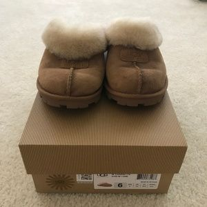 UGG Coquette Slippers Chestnut in Size 6